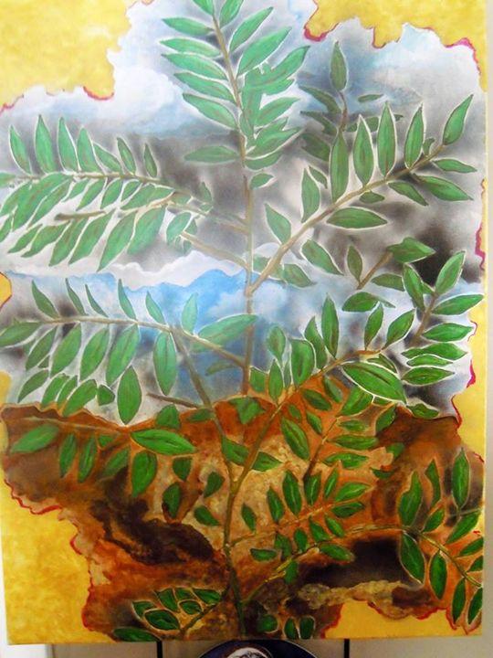 Tree Study Original Acrylic Painting - Murphy Art & Soul