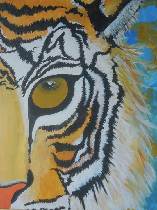 Eye Of The Tiger 2 - Murphy Art & Soul