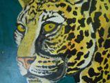 Acrylic Leopard Painting