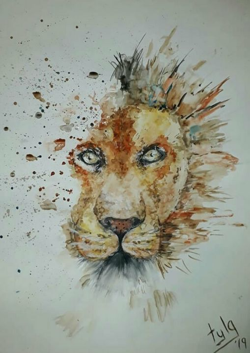 King of Africa - TylaJo's Art