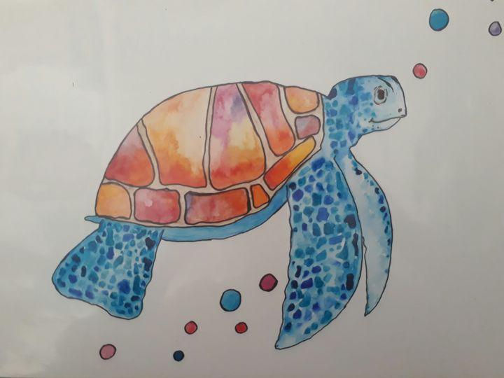 Turtle Dude - TylaJo's Art