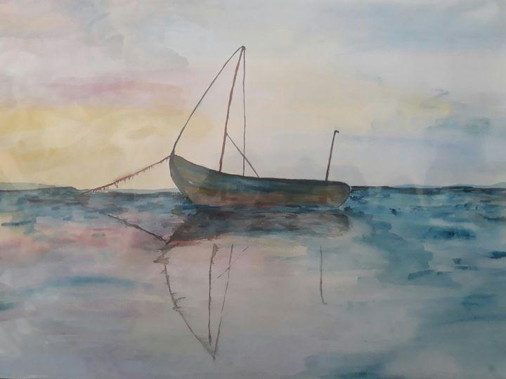 Sail Boat - TylaJo's Art