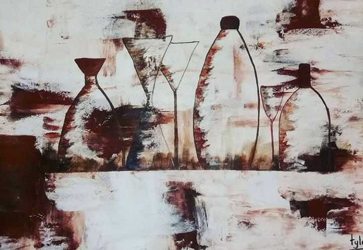 Someone pour me a drink - TylaJo's Art