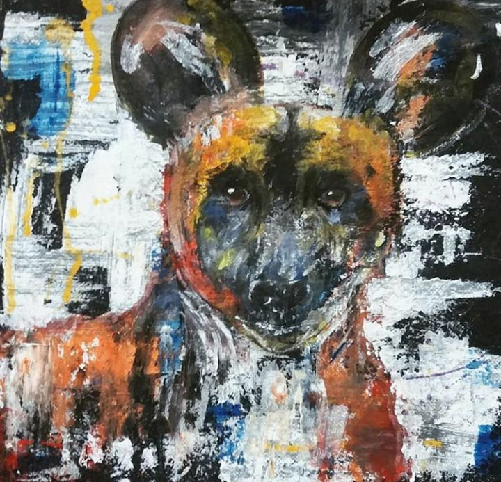 Painted Dog - TylaJo's Art