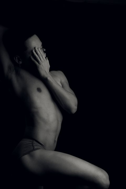 Anonymous Dancer 01 - Alejandro Romero FineArt