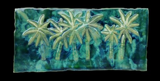 Swaying Palm Trees Wall Hanging - Ceramic Designs by Albert
