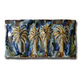 Palm Tree Ceramic Art