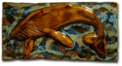 Maui Humpback Whale Plaque - Ceramic Designs by Albert
