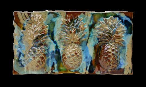 Sweet Maui Pineapple Plaque - Ceramic Designs by Albert