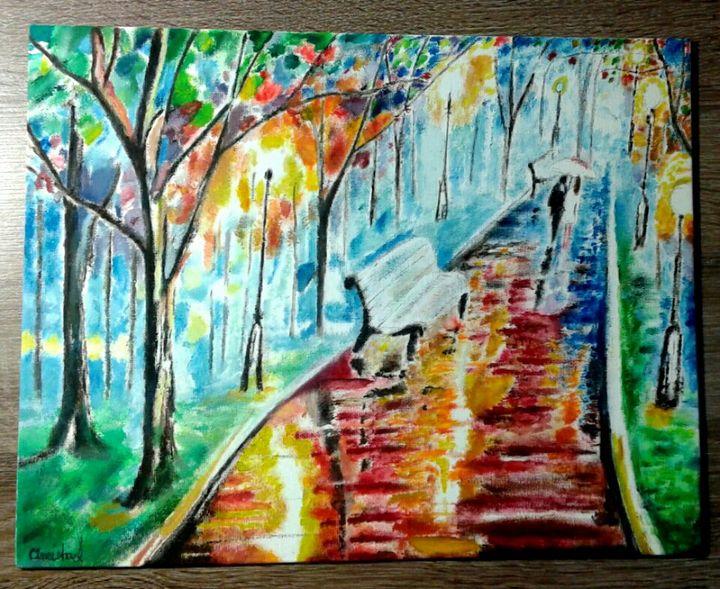 Stroll Thru the Park - Oneisha's Artworld