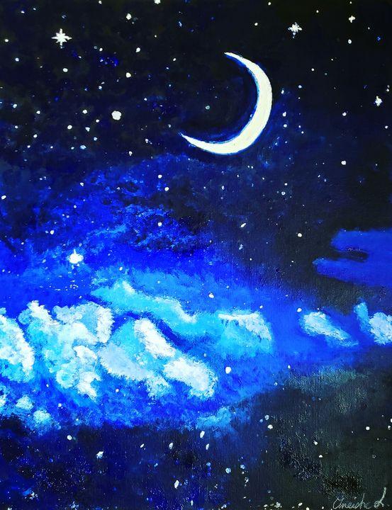 Starry Night - Oneisha's Artworld