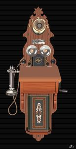 Vintage Telephone - Åsmund Berge