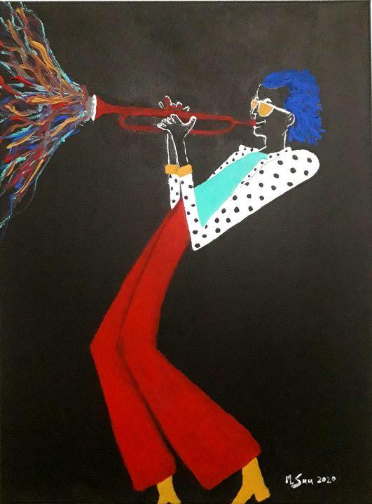 """""""Colors of Miles"""" - Mark Suu"""