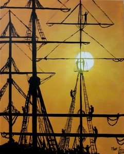"""Sun, sails and sailors"""