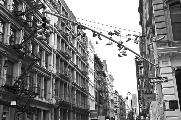 Shoes - Black & White
