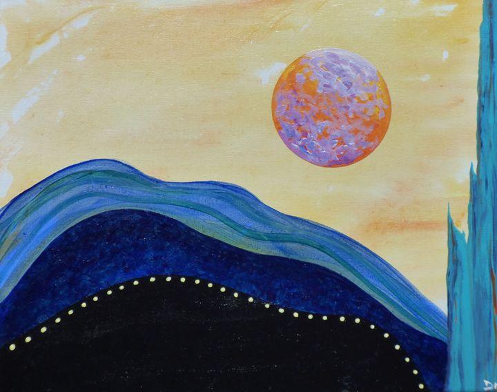 Blue Cliff - Diane Margaret Evans