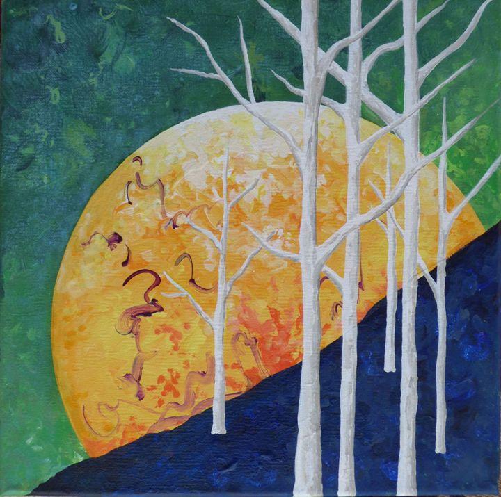 Six Trees - Diane Margaret Evans