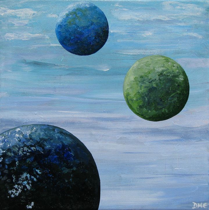 Three Planets - Diane Margaret Evans