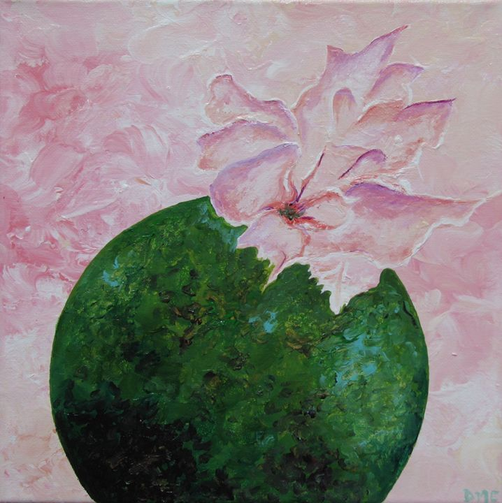 Blooming Planet - Diane Margaret Evans