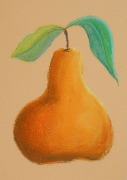 Yellow Pear - Diane Margaret Evans