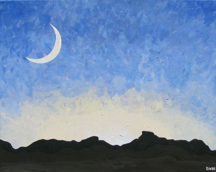 Anniversary Moon - Diane Margaret Evans