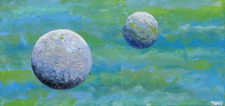 Water Worlds - Diane Margaret Evans