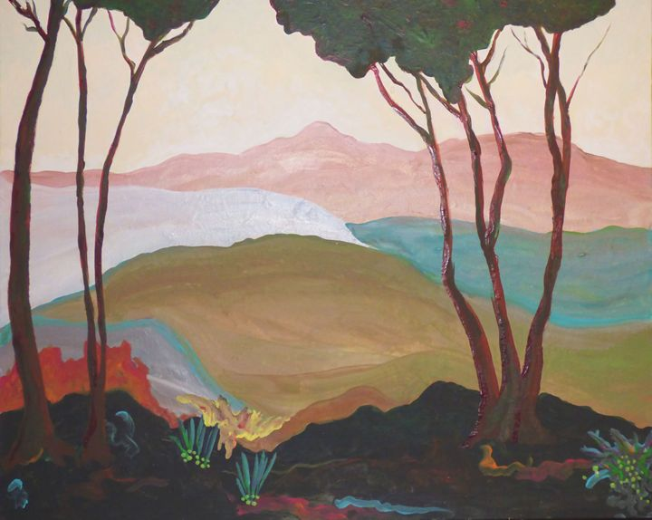 Five Trees - Diane Margaret Evans