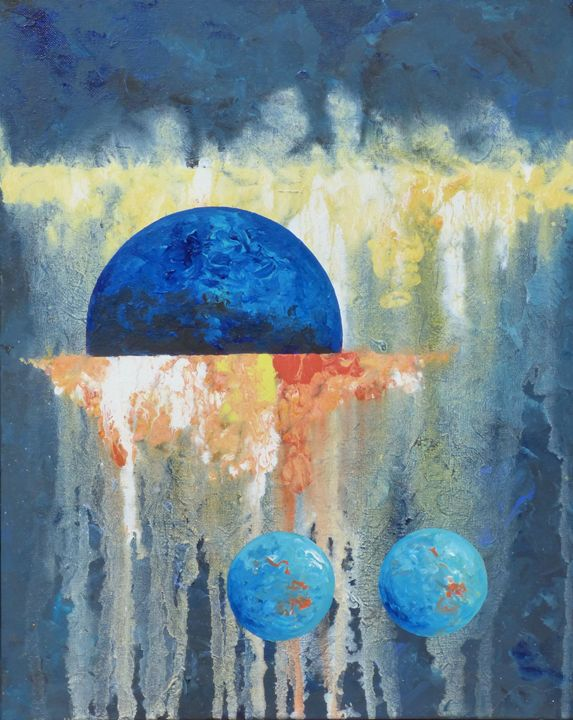 Blue Rising - Diane Margaret Evans