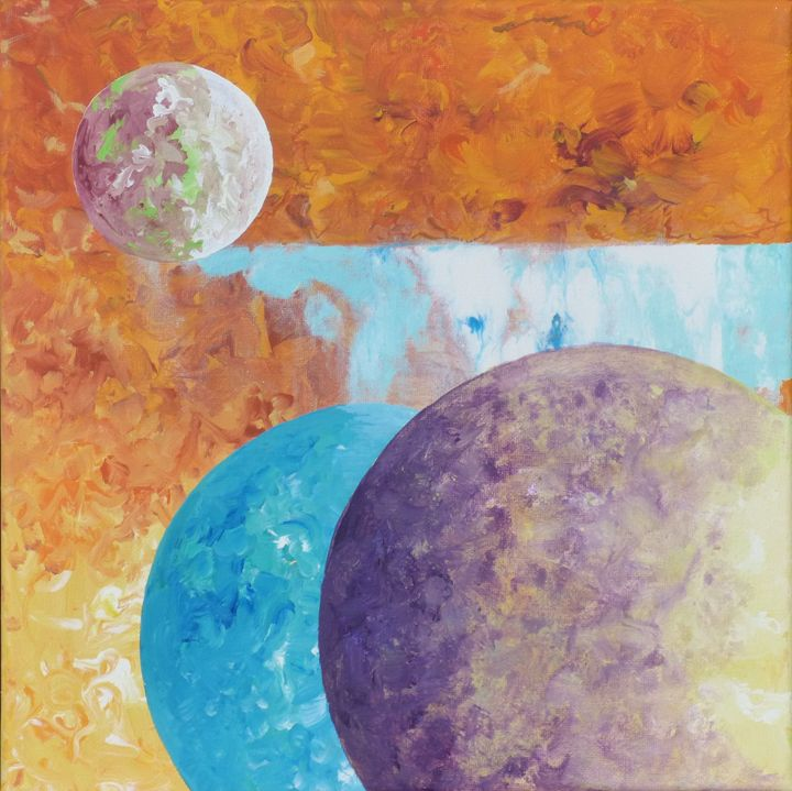 Sun and Moons - Diane Margaret Evans