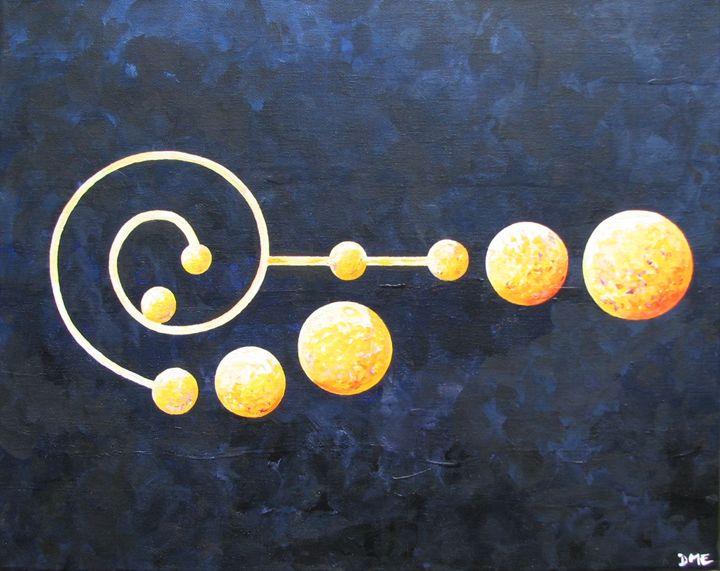 Pleiades Crop Circle - Diane Margaret Evans