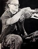16x20 Charcoal Drawing