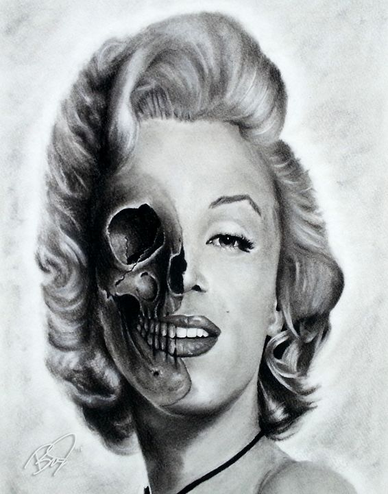 2 Faced - Art By Brad Newlin