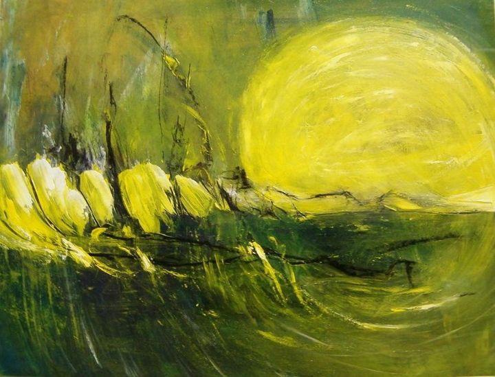 Sun Unravels the Horizon - Diane S Miles Studio