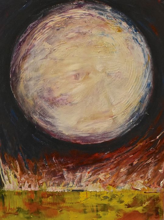 Grandmother Moon - Diane S Miles Studio