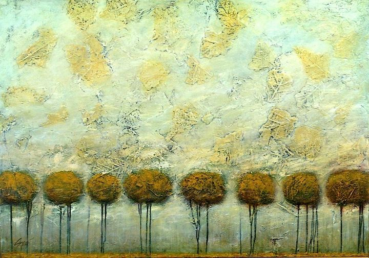 Tree Lines II - Diane S Miles Studio