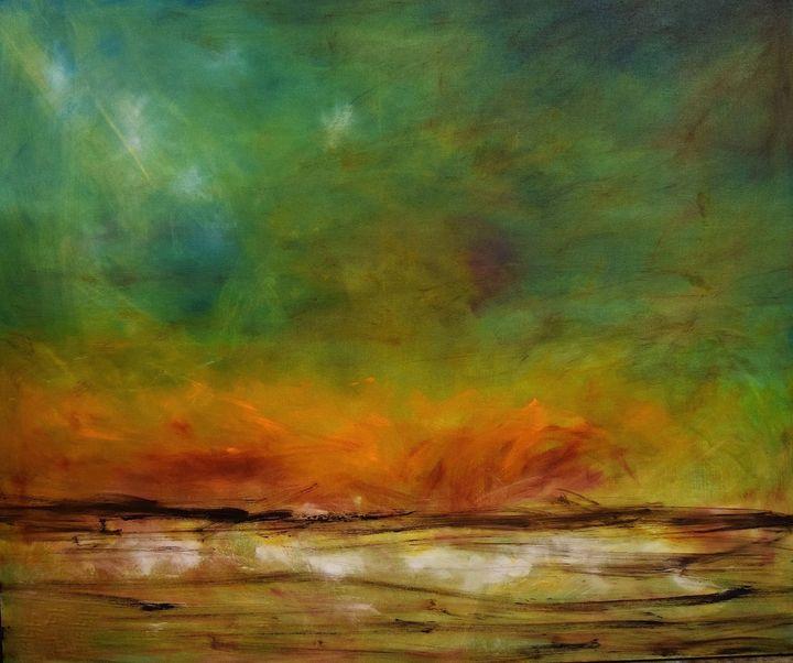 Night Fire - Diane S Miles Studio