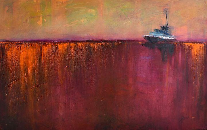 Alaskan Sunset - Diane S Miles Studio