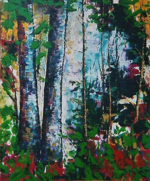 Woodland Series I - Diane S Miles Studio