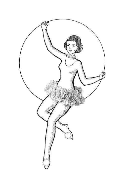 Airdancer, Circus Girl - Anastasya Khoroshikh