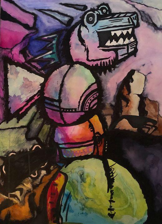 Abstract Dragon - Kelvin Sosa