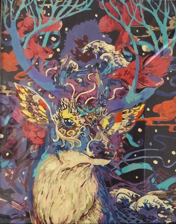 Deer Abstract - Kelvin Sosa