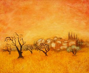 """Old almonds trees"""