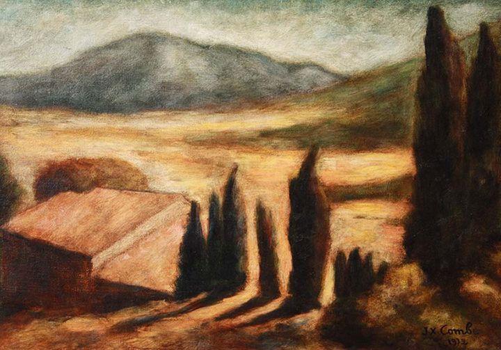 """Mas in Provence "" - Jean-Xavier Combe"