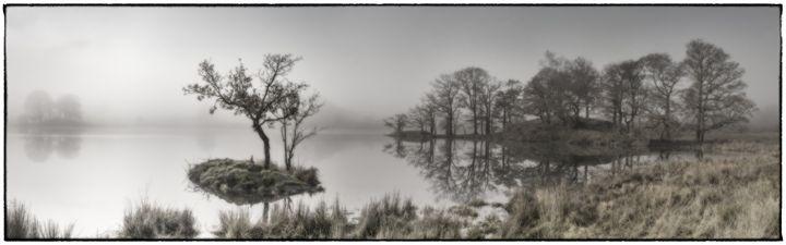 Misty Rydal Water,Lake District - Tim Gartside Photography