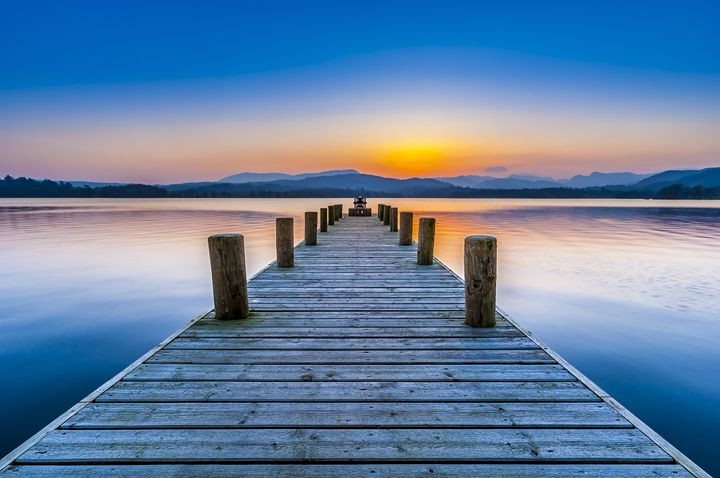 Jetty,Windermere,Lake District, - Tim Gartside Photography