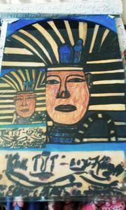 the Black Egyptian king tut!