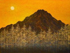 ARU HI - Japanese style painting