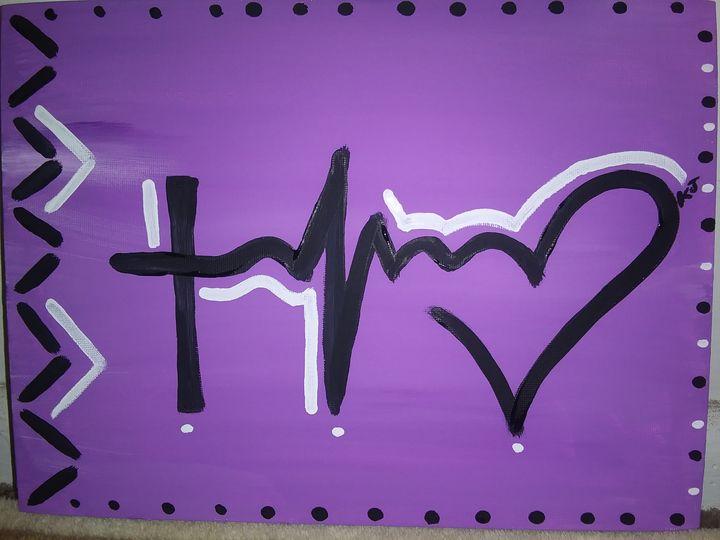 Faith. Hope. Love - Paintings by Kee