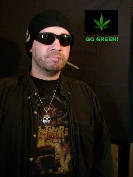 Go Green! - Chris Tankersley Art