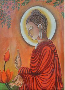 Buddha in Garden